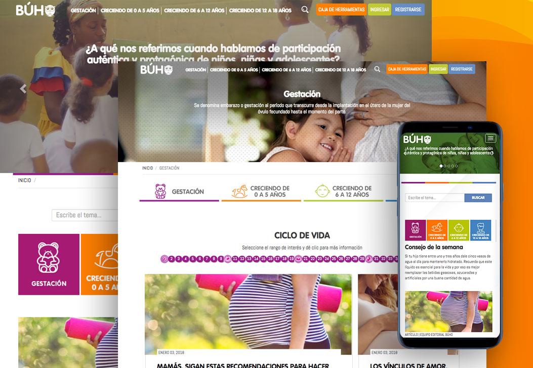 Buho Site Web