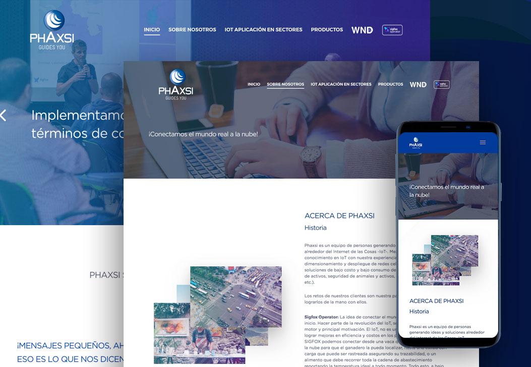 Phaxsi Web Site