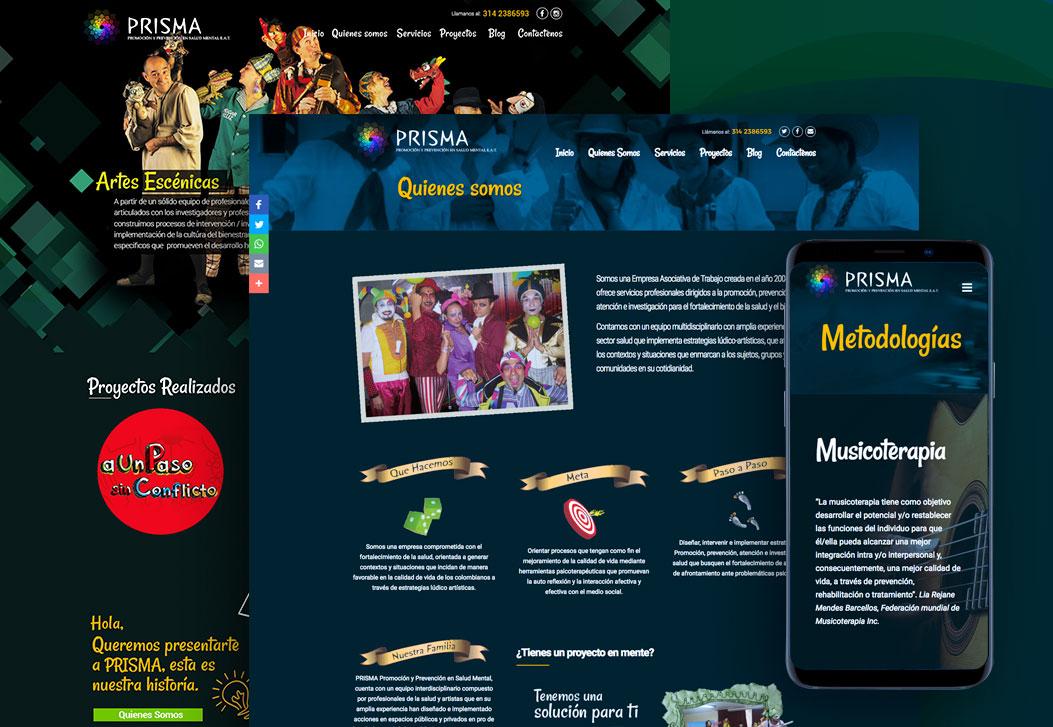 Prisma Sitio Web