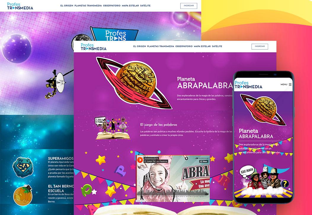 Projet Transmedia Web Site